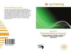 Bookcover of Generalized Markup Language