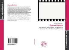 Обложка Donna Deitch