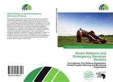 Buchcover von Home Defence and Emergency Services Division