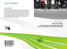 Bookcover of Honda Elite