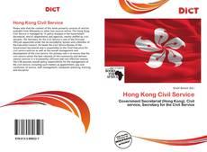 Capa do livro de Hong Kong Civil Service