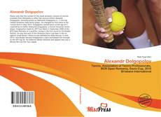 Bookcover of Alexandr Dolgopolov