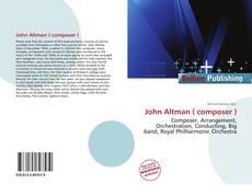 Обложка John Altman ( composer )
