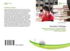 Bookcover of Humber College