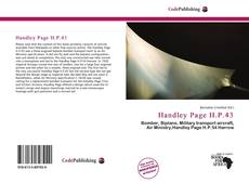Buchcover von Handley Page H.P.43