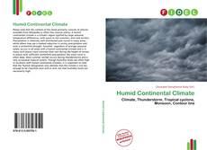 Capa do livro de Humid Continental Climate