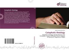 Bookcover of Cataphatic theology