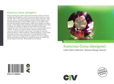 Capa do livro de Francisco Costa (designer)