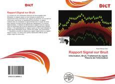 Bookcover of Rapport Signal sur Bruit