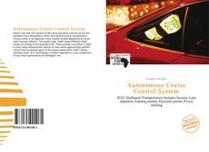 Autonomous Cruise Control System的封面