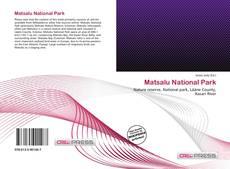 Buchcover von Matsalu National Park