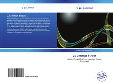 Capa do livro de 22 Jermyn Street