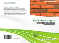 Bookcover of Historic Houses in Virginia