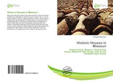 Bookcover of Historic Houses in Missouri