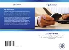 Bookcover of Accéléromètre