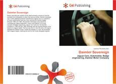 Daimler Sovereign kitap kapağı