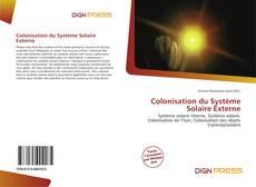 Capa do livro de Colonisation du Système Solaire Externe