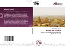 Bookcover of Birbhum District