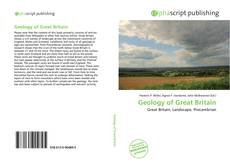 Capa do livro de Geology of Great Britain