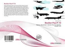 Bookcover of Boulton Paul P.10