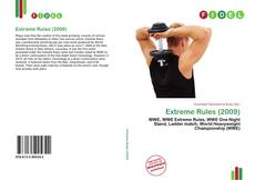 Обложка Extreme Rules (2009)