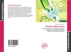 Bookcover of Charles Adermann