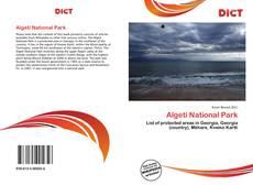 Capa do livro de Algeti National Park