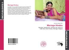 Capa do livro de Mariage Hindou