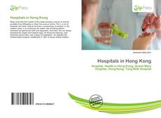 Bookcover of Hospitals in Hong Kong