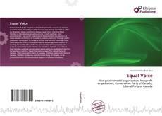 Capa do livro de Equal Voice
