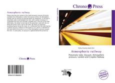 Bookcover of Atmospheric railway