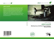 Bookcover of John Leavitt
