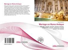 Bookcover of Mariage en Rome Antique