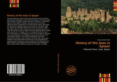 History of the Jews in Speyer kitap kapağı