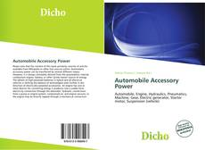 Capa do livro de Automobile Accessory Power