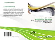 Copertina di Automobile Handling