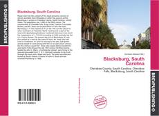 Bookcover of Blacksburg, South Carolina