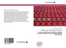 Copertina di Mansoor Ali Khan Pataudi