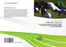 Capa do livro de 1933 NFL Season