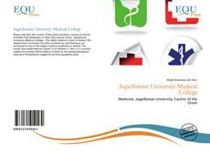 Jagiellonian University Medical College kitap kapağı