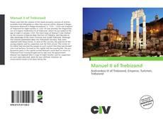 Capa do livro de Manuel II of Trebizond