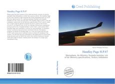 Bookcover of Handley Page H.P.47