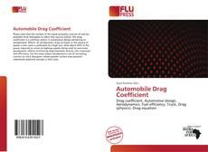 Borítókép a  Automobile Drag Coefficient - hoz