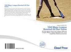 Couverture de 1940 Major League Baseball All-Star Game