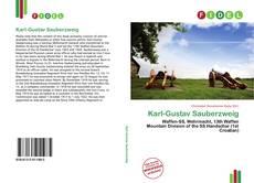 Karl-Gustav Sauberzweig的封面