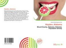 Capa do livro de Hayden, Alabama