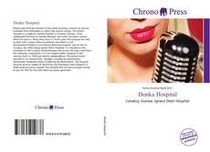 Bookcover of Donka Hospital