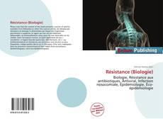 Обложка Résistance (Biologie)
