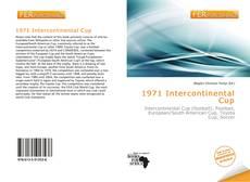 Обложка 1971 Intercontinental Cup