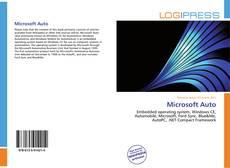 Bookcover of Microsoft Auto